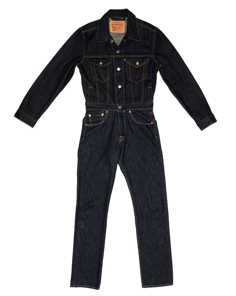 x-karla xkarla levis 501 day collection denim boiler suit jean 1