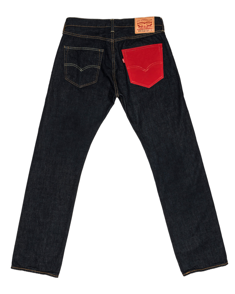 Levi's x karla Original Red Pocket 501 - x karla - x - karla - fashion - style - karla welch -