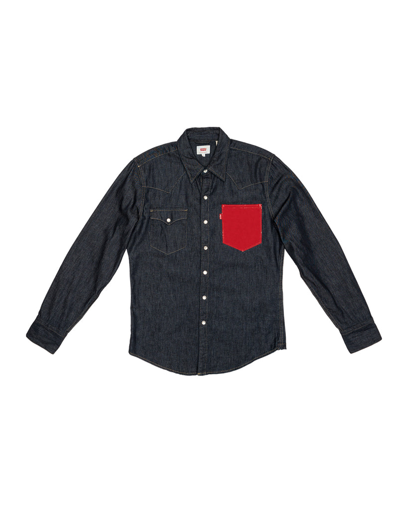 Levi's x karla Original Red Pocket Shirt - x karla - x - karla - fashion - style - karla welch -