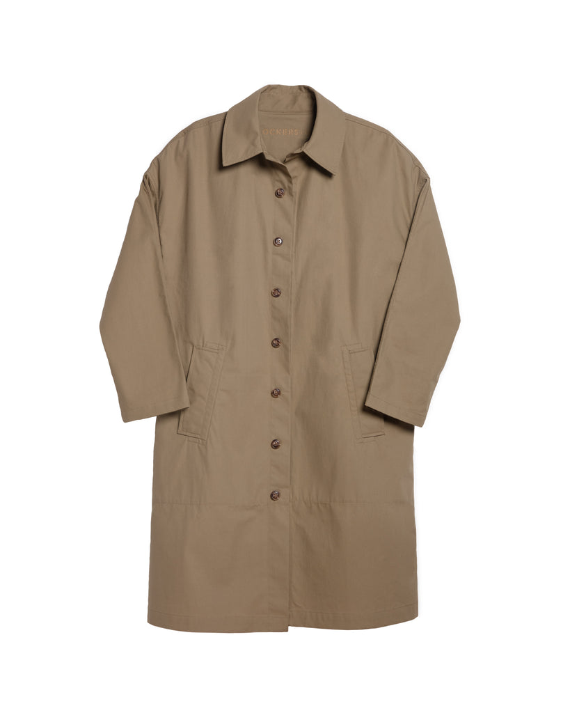 xkarla dockers collection trench coat khaki 1