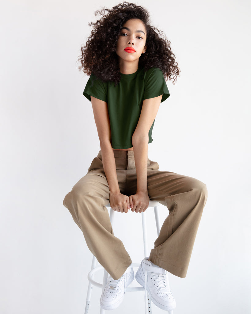The Baby in Military Green - x karla - x - karla - fashion - style - karla welch -