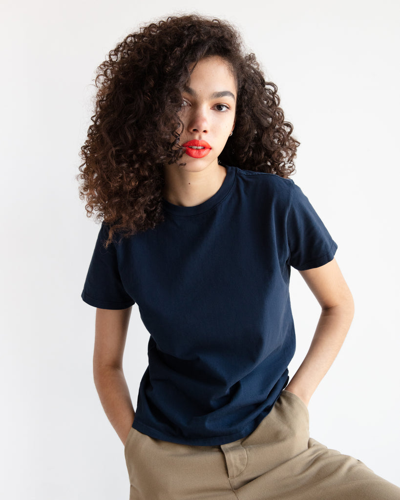 The Crew in Navy - x karla - x - karla - fashion - style - karla welch -