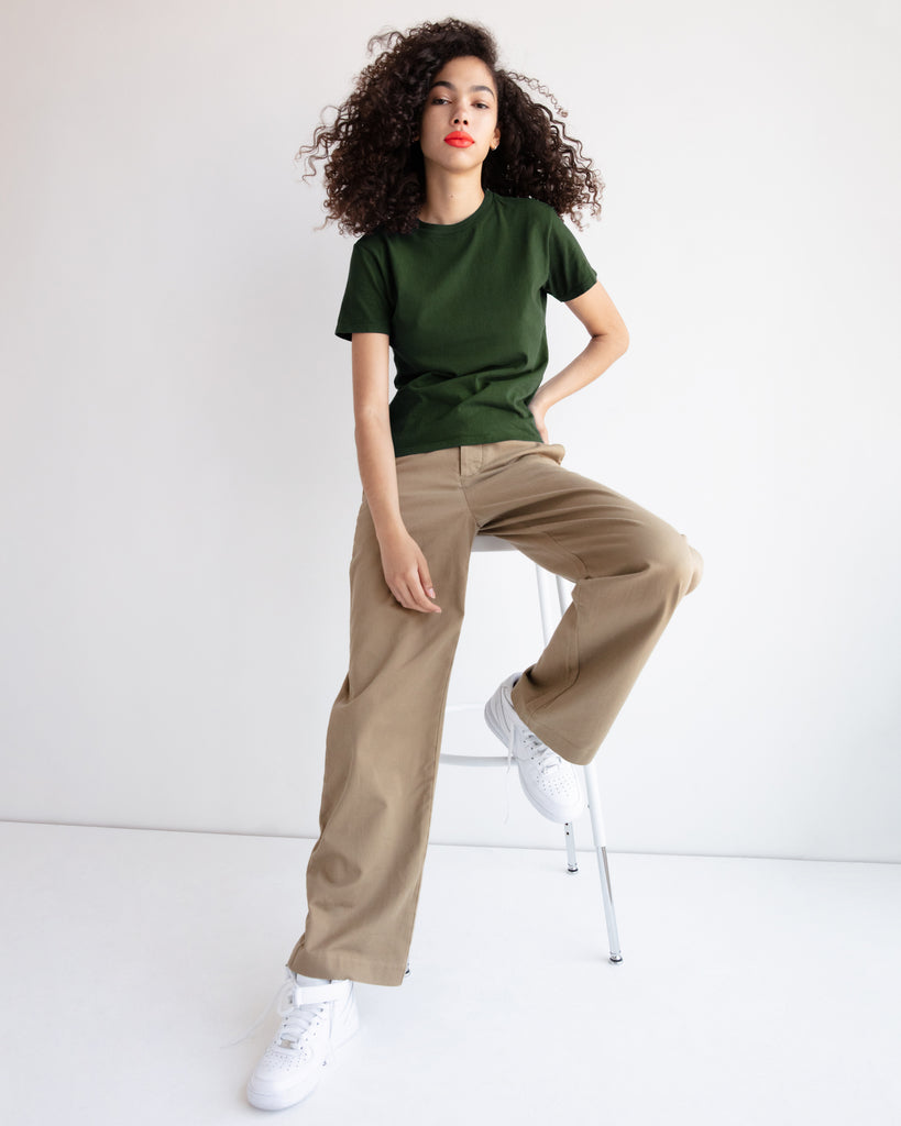 The Crew in Military Green - x karla - x - karla - fashion - style - karla welch -