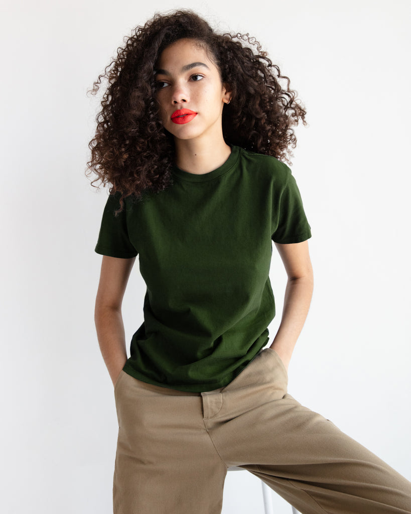 The Crew (Military Green) - x karla - x - karla - fashion - style - karla welch -
