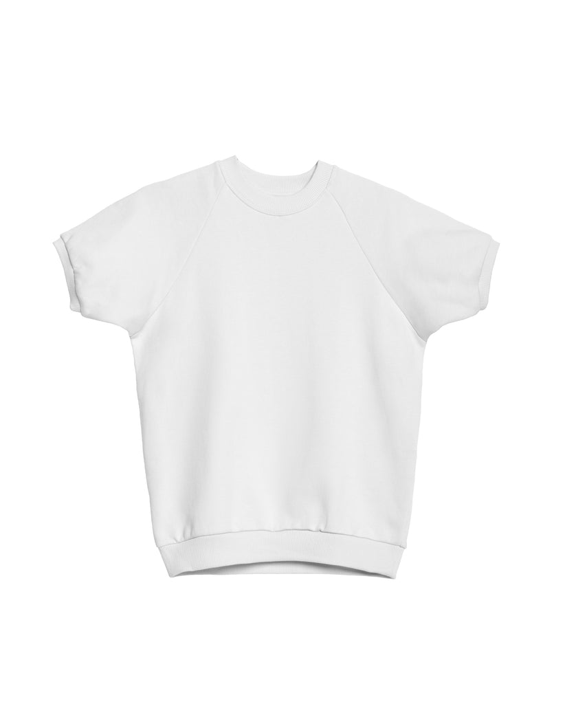 The Short Sleeve Sweatshirt (White) - x karla - x - karla - fashion - style - karla welch -