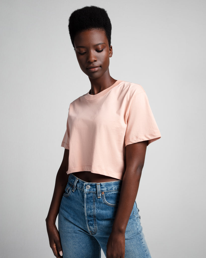 The Crop in Dusty Pink - x karla - x - karla - fashion - style - karla welch -