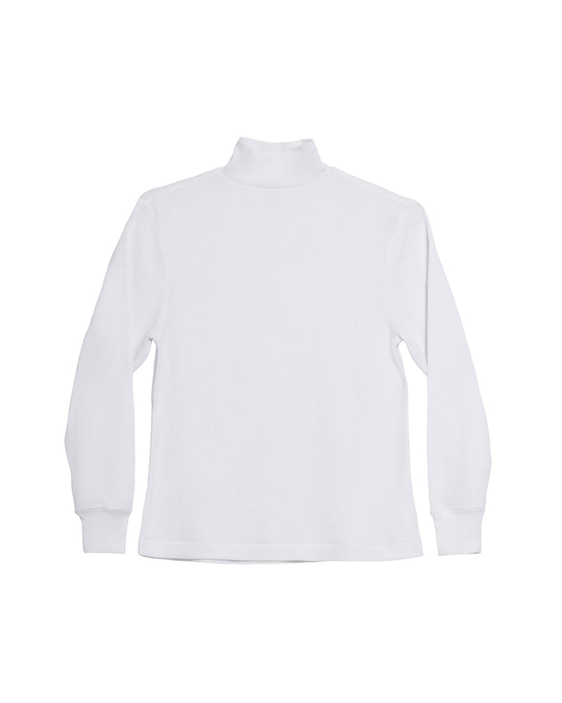 The Mock Neck (White) - x karla - x - karla - fashion - style - karla welch -