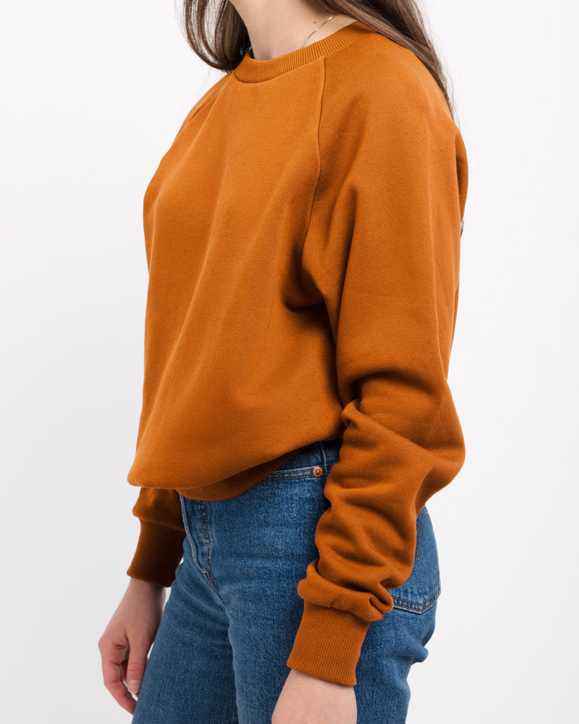 The Raglan Crew Neck in Bronze - x karla - x - karla - fashion - style - karla welch -