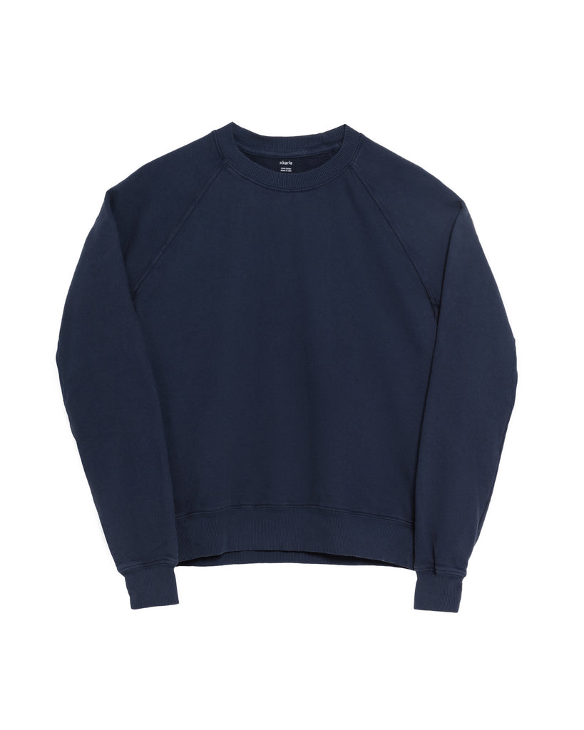 The Raglan Crew Neck (Navy) - x karla - x - karla - fashion - style - karla welch -