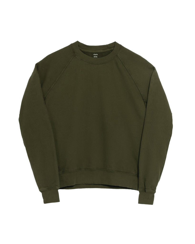 The Raglan Crew Neck (Military Green) - x karla - x - karla -