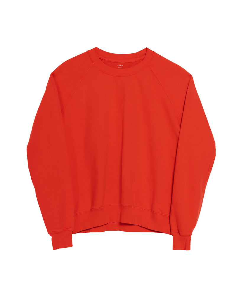 The Raglan Crew Neck (Red) - x karla - x - karla -