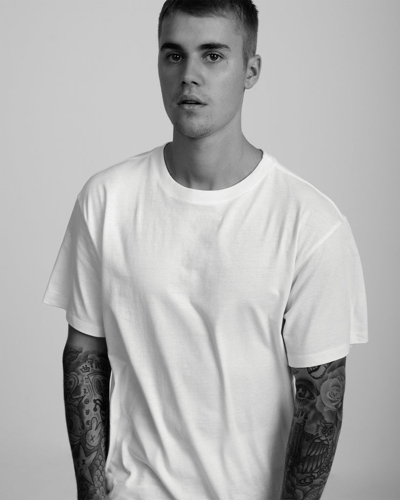 xkarla x-karla hanes t-shirt tshirt Justin bieber collection the classic white
