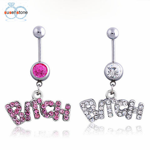 Crystal Body Piercing Belly Button Belly Ring Jewelry