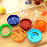 Multi Functional 8 in 1 Kitchen Tool Set