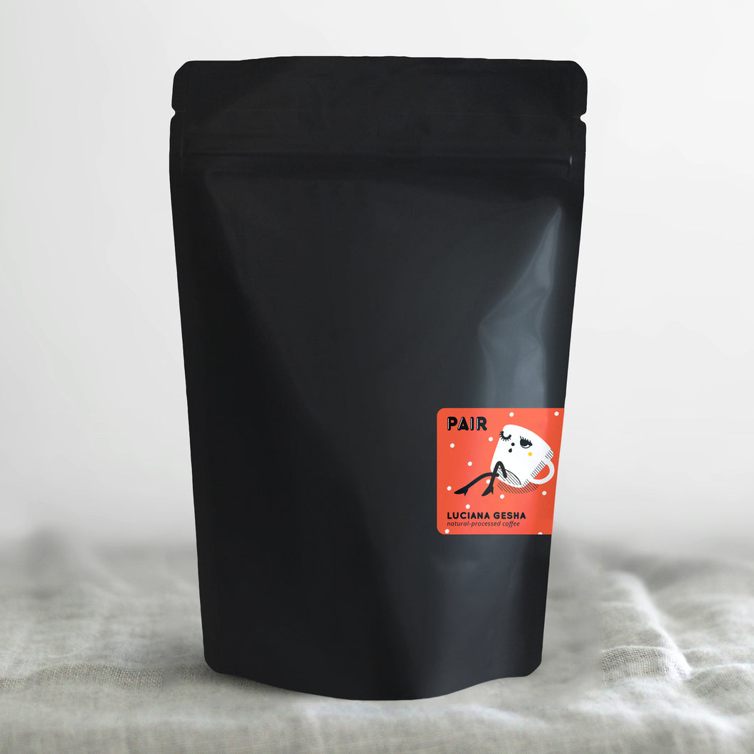 8oz Natural-Process Gesha from Villa Luciana in Colombia