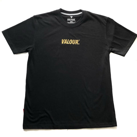 Valour 'Gold Foil' Black