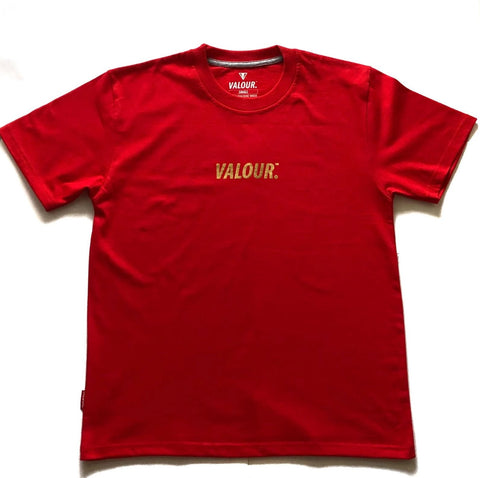 Valour 'Gold Foil' Red