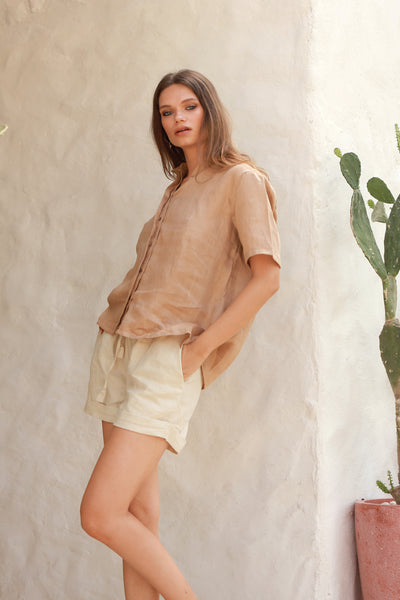 Joie - Short in Bircher Linen