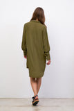 Twiggy - Shirt Dress in Khaki