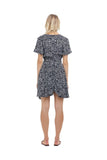 Anouck - Micro Dress in Fleurette Print Black