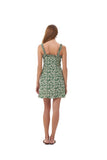 Alba - Dress in Ivy Dill and Birch
