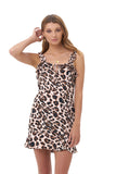 Ajak - Dress in Leopard Print