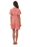 Anouck - Micro Dress in Vintage Flower Red
