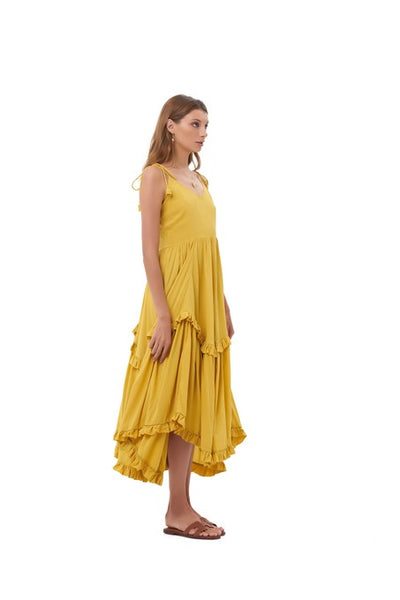 Valere - Maxi Dress in Sun Flower