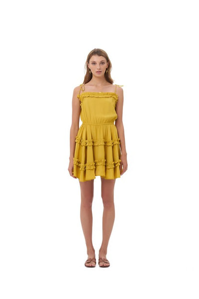 Delilah - Dress in Sun Flower