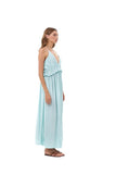 Ariana - Maxi Dress in Aquamarine