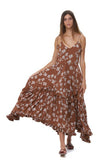 Valere - Maxi Dress in Lantana Sunburn