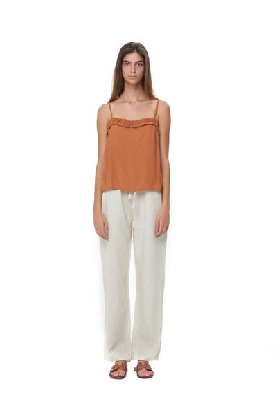 Romy Camisole - Top in Plain Sunburnt