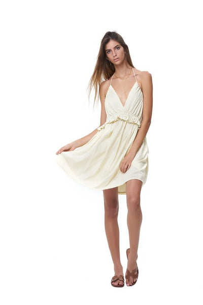 Ariana - Dress in Plain Bircher
