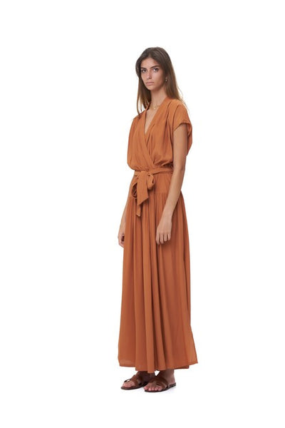 Aia - Maxi Dress in Sunburnt