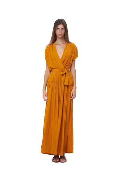 Aia - Maxi Dress in Citrus