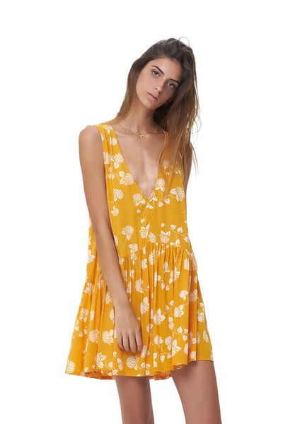 Rayder - Dress in Lantana Citrus