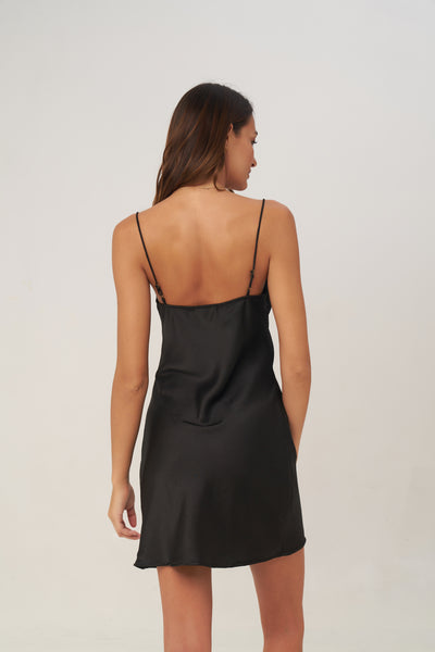 Crawford - Mini Dress in Black