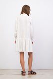 Hermione - Long Sleeve Dress in White
