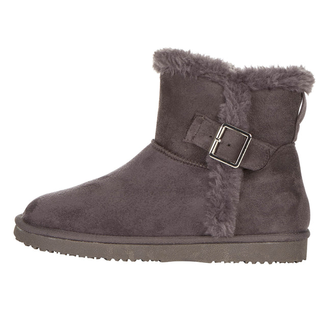 Floopi Classic Mid-Calf Cut Winter Boots for Women (Grey)