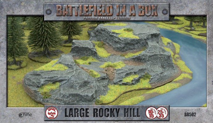 Battlefield in a Box: Large Rocky Hill