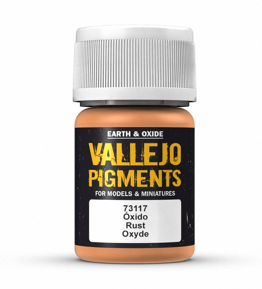 Vallejo Pigments: Rust