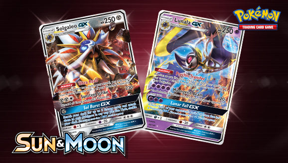 Legendary Power Pokemon GX Sun and Moon
