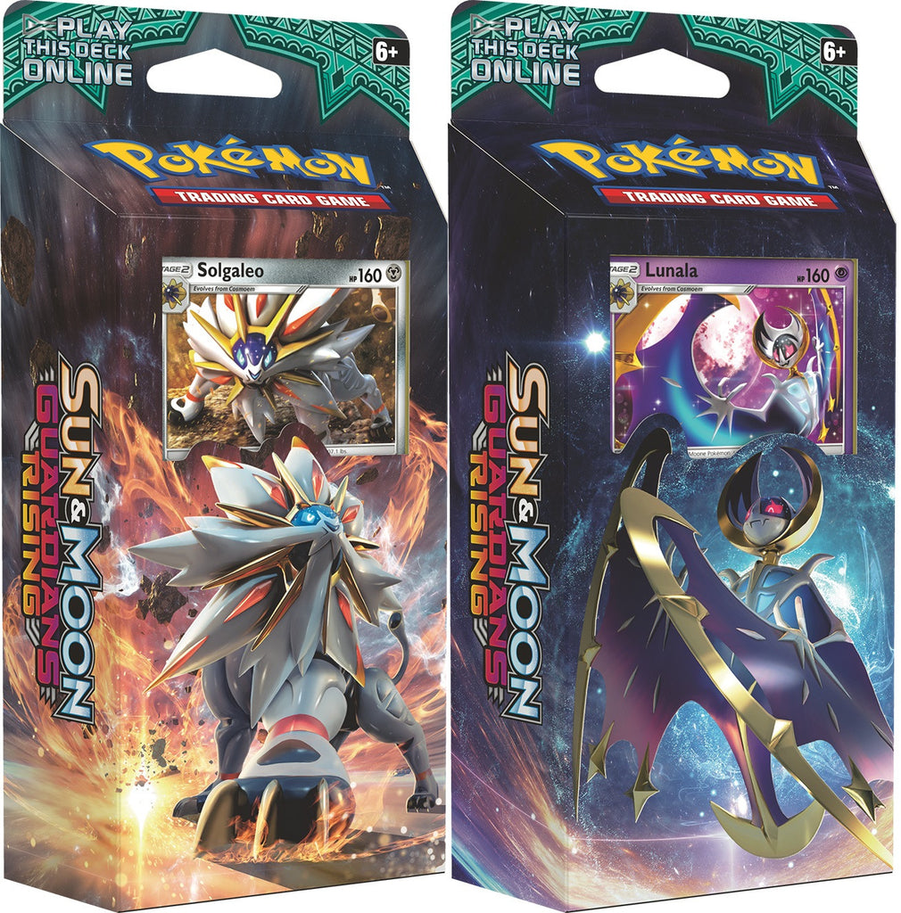 Pokemon Sun and Moon: Guardians Rising Theme Deck