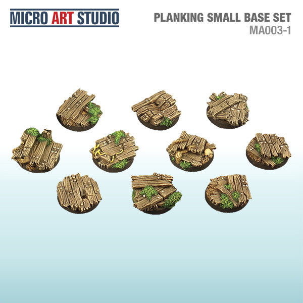 Micro Art Studio Base System: Planking - 10x30mm