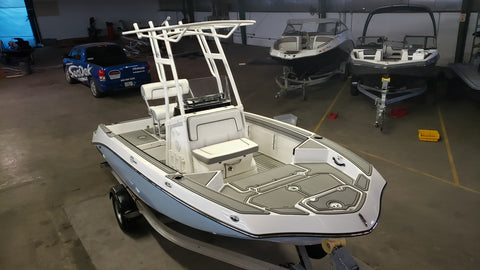 Faux Teak SeaDek for Yamaha 19 Foot FSH Boats (2019 MY)