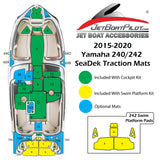 Yamaha 240/242 SeaDek Cup Holder Mats (2015-2020)