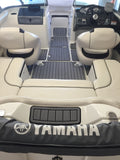 Faux Teak SeaDek for Yamaha 19 Foot Boats