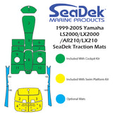 SeaDek Gunnel Mats for Yamaha LS2000/LX210/AR210 (99-05 MY)