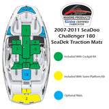 Faux Teak SeaDek For Sea Doo Challenger 180