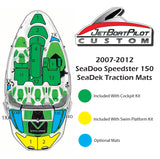 SeaDek Optional Pad 3X For SeaDoo Speedster 150 (2007-2012)
